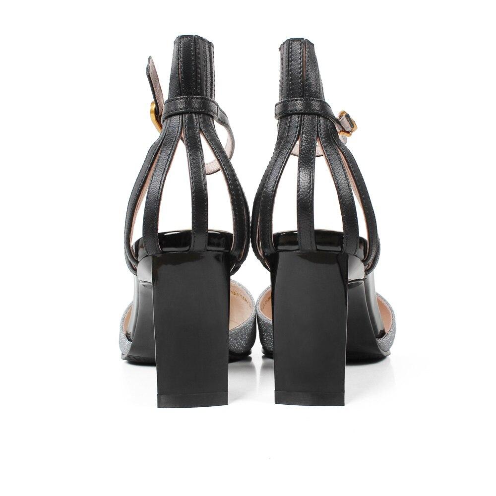 High Hochzeit 7cm Schwarz Frauen Mode 2019 Pumps Casual Scarpe up Spitze Sandalen Mujer Zapatos Black Weibliche pink Heel 7cm Vikeduo Schuhe Für E6qpW