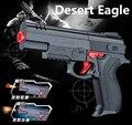Alta calidad Desert Eagle Nerf airsoft. pistola Rifle de Aire Suave de Bala Pistola de Juguete Pistola de Paintball CS Juego de Disparo de Agua de Cristal pistola