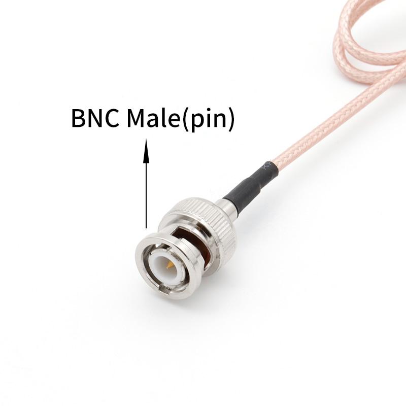 Image 5 - BNC (Q9) Беспроводной микрофонный кабель BNC штекер к женскому удлинитель радиочастотный коаксильный кабель для Универсальный микрофон антенна-in Антенны для связи from Мобильные телефоны и телекоммуникации