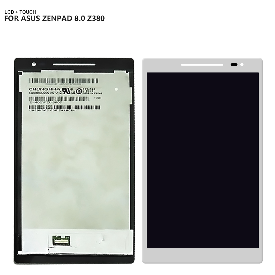 все цены на Good quality For ASUS Zenpad 8.0 Z380C Z380KL Z380M Z380 LCD Display Touch Screen Digitizer Assembly онлайн