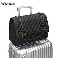 MTENLE Large Shoulder Bag Women Travel Bags Leather Pu Quilted Bag Female Luxury Handbags Women Bags