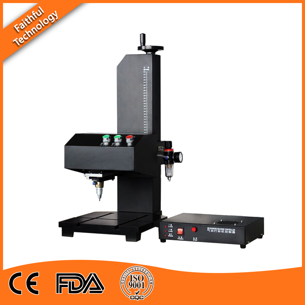High Quality Pneumatic Dot Peen Marking Machine for Metal Plate Engraving metal name plate engraving machine for batch number marking