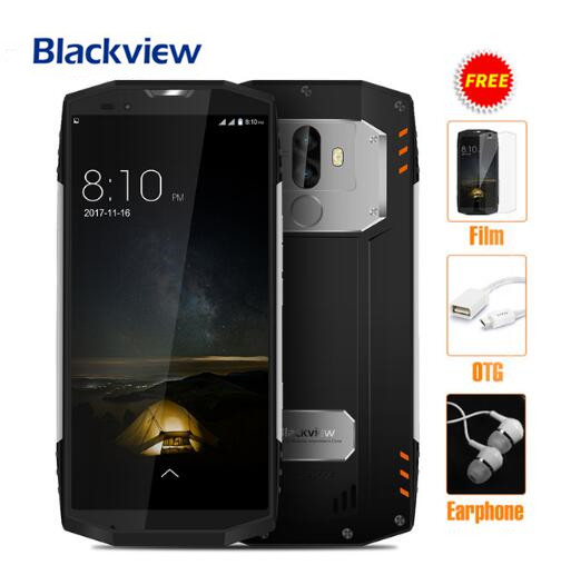 Original Blackview BV9000 Pro IP68 Waterproof 4G LTE Phone MTK6757 Octa Core Android 7.1 6GB+128GB With NFC OTG Mobile Phone