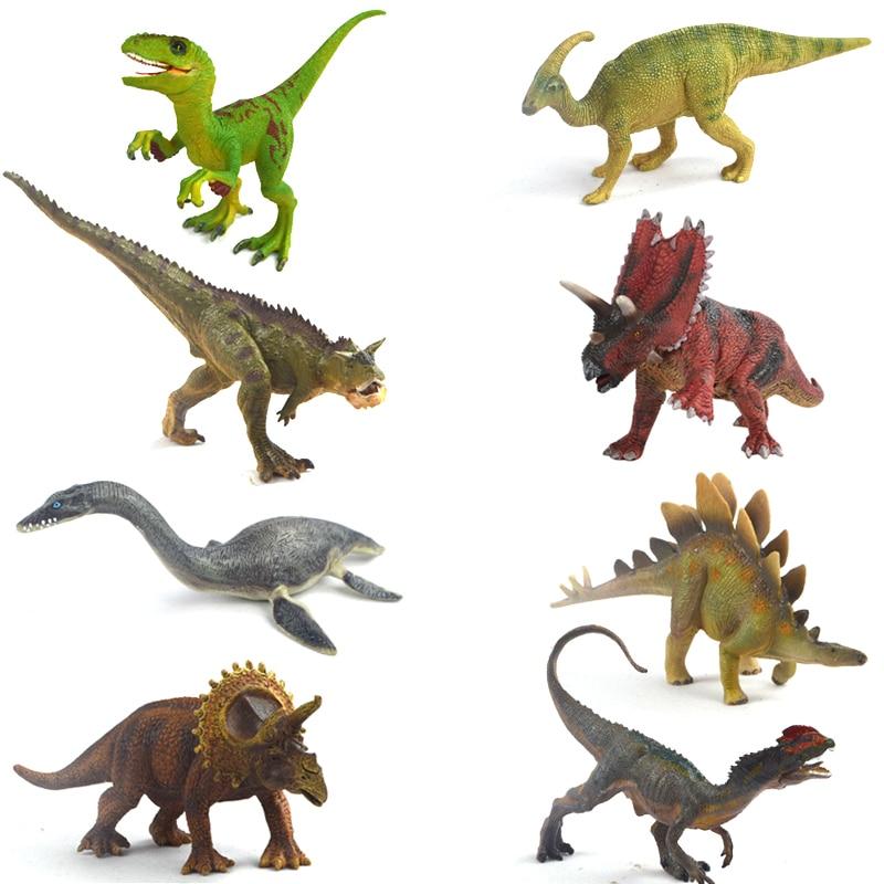 Genuino original de plástico juguetes de dinosaurios plesiosaurios ...