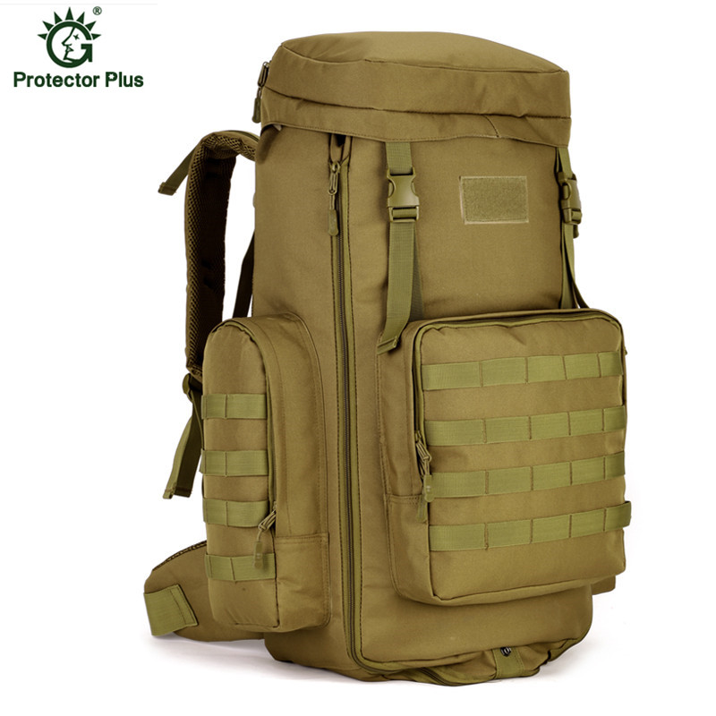 70L Molle Tactics Backpacks Army Fans Nylon Large Capacity Mountaineering Bag Assault Travel Military Rucksack X140 70 to 85l big large capacity adjustable multifunction out door travel backpack camouflage nylon tactics molle system rucksack