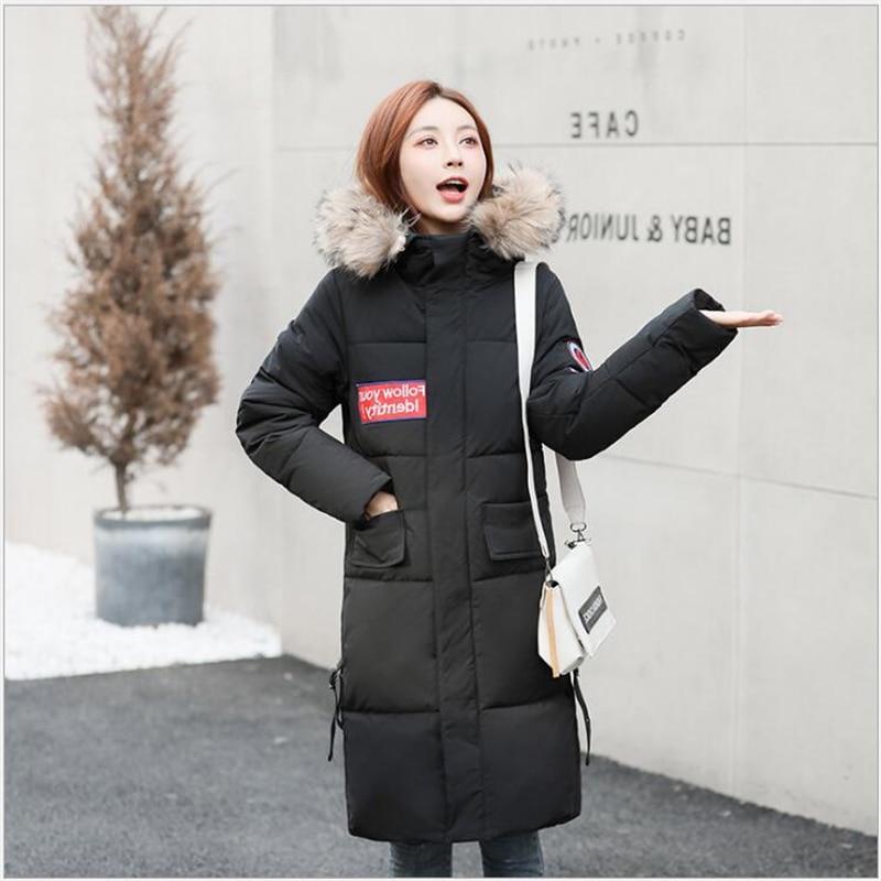 Winter jacket women   parkas   2019 women Korean cotton-padded coat women's thick cotton padded warm bread coat casaco femininoR159