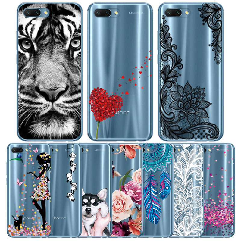 Silicone Case for Huawei <font><b>Honor</b></font> 10 Soft TPU Cover for <font><b>Honor</b></font> <font><b>9</b></font> 8X <font><b>9</b></font> <font><b>lite</b></font> Y6 2019 Transparant for Y7 2019 P Smart 2019 P30 capa image