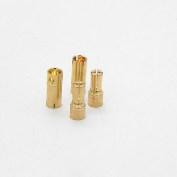 200 pairs/lot High performance 4.8MM Gold Plating Banana Bullet Plug Connector For RC Battery Motor ESC Part FS0172