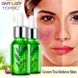 OMY SENHORA ROREC essência de semente de chá Verde hidratante Facial essência Hidratante umidade fluido Elite soft & profunda nutrir a pele gel