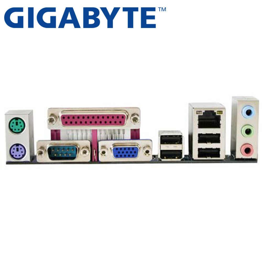 GIGABYTE GA-G41M-ES2L настольная материнская плата G41 розетка LGA 775 для Core 2 DDR2 8G Micro ATX оригинальная б/у G41M-ES2L материнская плата
