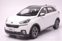 1:18 Diecast Model for Kia KX3 2016 White City SUV Alloy Toy Car Collection Gifts