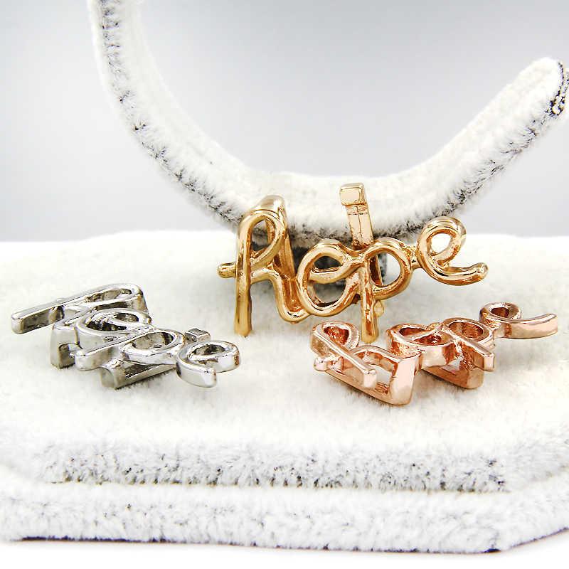 YUKAM ползунки ювелирные изделия кристалл сглаза детские ноги надеюсь Любовь Сердце Пирамида камень бар слайд талисманы хранитель для сетки браслеты изготовления