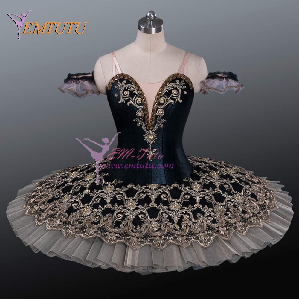 Adult Professional Tutus Black Gold Professional Ballet