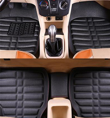 Universal car floor mats for <font><b>Ford</b></font> escort fiesta mondeo Focus Fiesta Edge Explorer Taurus S-MAX <font><b>F150</b></font> Everest mustang image