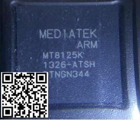 MT8125K chip da CPU ic