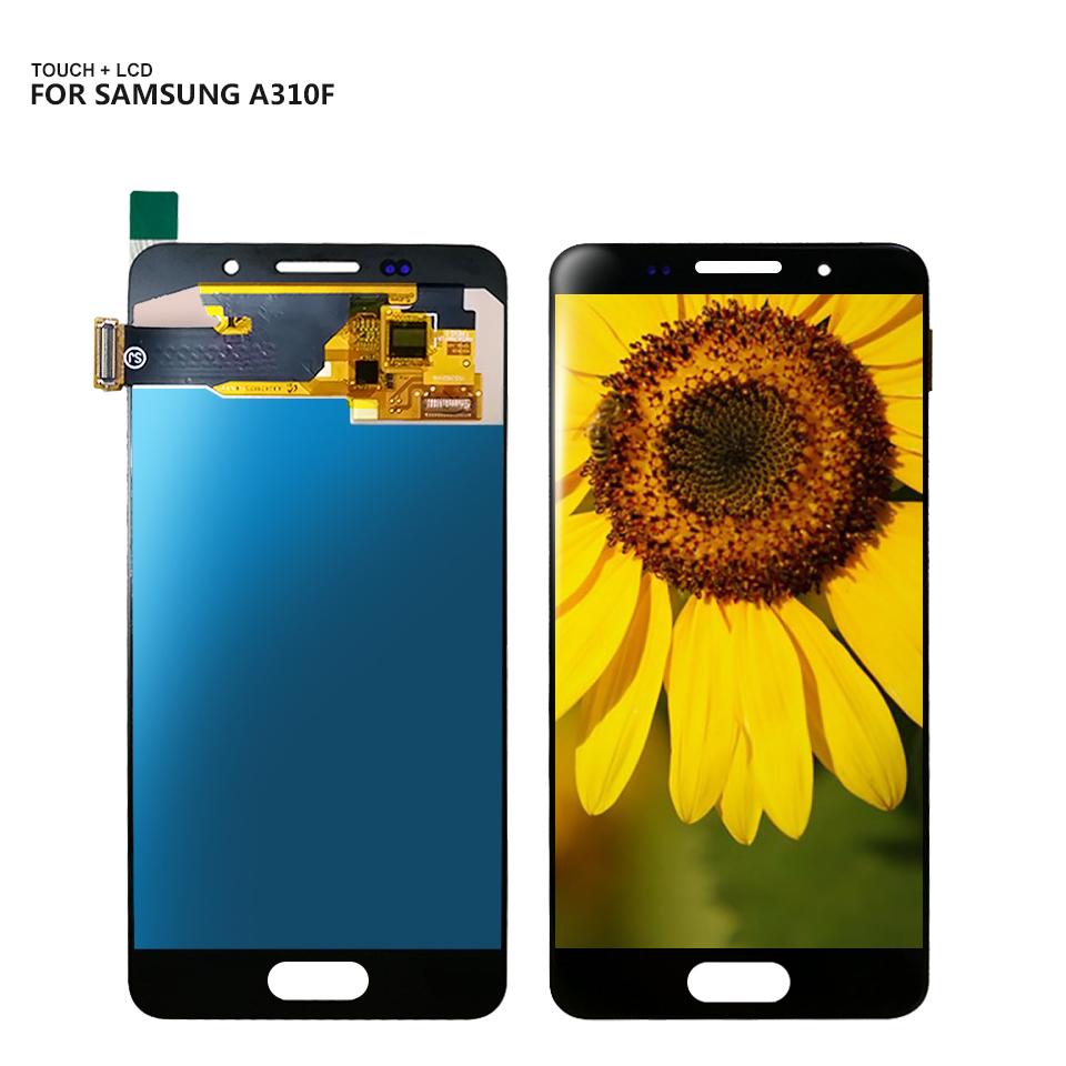 For Samsung Galaxy A3 2016 A310 A3100F A3100 A310F Lcd Display Digitizer Touch Screen Assembly Replacement + ToolsFor Samsung Galaxy A3 2016 A310 A3100F A3100 A310F Lcd Display Digitizer Touch Screen Assembly Replacement + Tools
