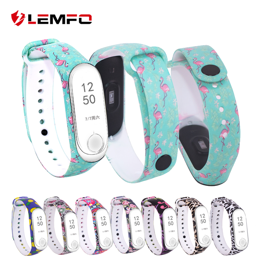 Bracelet-Strap Smart-Band Silicone for Xiaomi Colorful 3