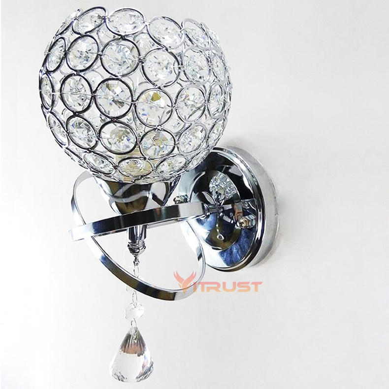 Lâmpadas de Parede clássico lâmpada de parede clássico Material : Cristal