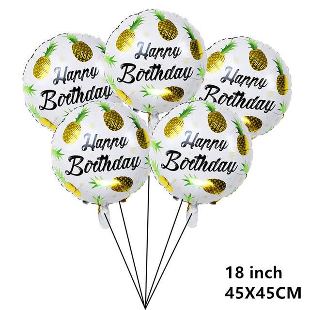 Flamingo Printed Balloon for Party Set 5 Pcs