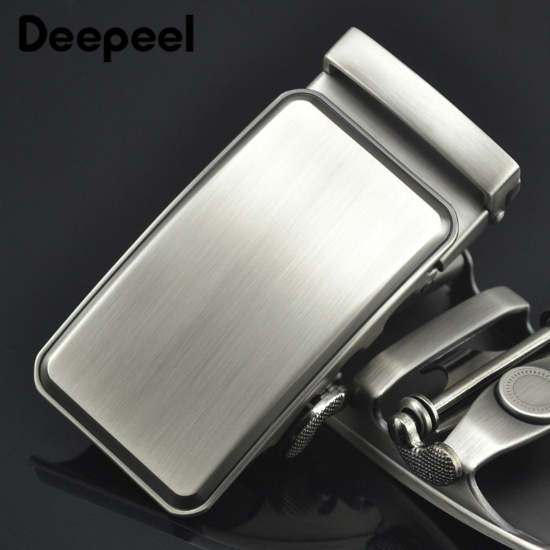 Deepeel 1pc 36mm Men's Belt Buckle Alloy Belt Automatic Buckle Head DIY Leather Hardware Craft Decoration For 34-35mm Belt YK020