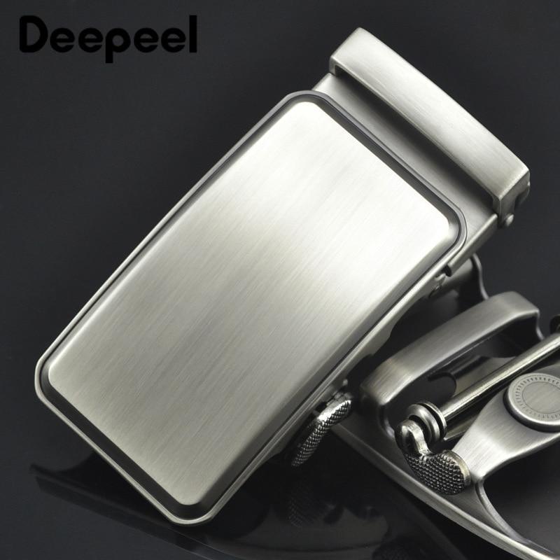 Deepeel 1pc 36mm Men's Belt Buckle Alloy Belt Automatic Buckle Head DIY Leather Hardware Craft Decoration For 34-35mm Belt YK020