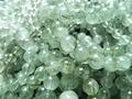 Freeshipping (40 contas/lot/42g) Actinolita rutilo cabelo natural 9-9.5mm de cristal de quartzo suave contas redondas de pedra para a jóia
