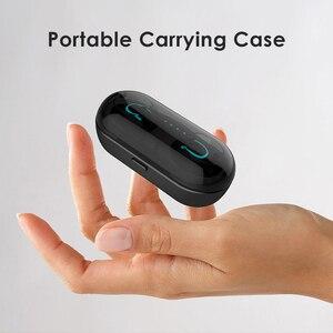 Image 5 - Aimitek Q13S TWS Bluetooth 5.0 ヘッドセットミニ双子ワイヤレスステレオイヤホンインイヤーインナーイヤー型充電ボックスの mic とスマートフォン