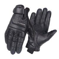 Genuine Leather Motorcycle Scoyco Gloves Racing Gloves Cowhide Leather Sheepskin Spring Summer Leisure Moto Retro Gloves
