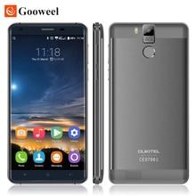 "Original k6000 oukitel pro 5.5 ""MTK6753 FHD Núcleo octa Android 6.0 telefone Móvel Celular 16MP 3 GB + 32 GB 4G LTE Smartphone Impressão Digital"