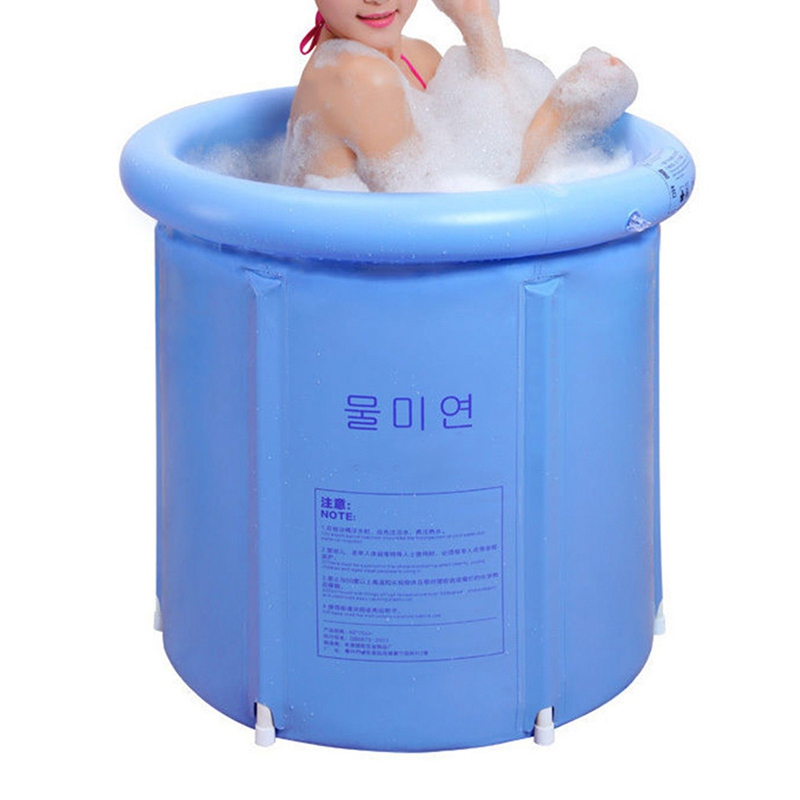 NEW!!!Portable Inflatable Bath Tub Folding Tub Bath Adult Child ...