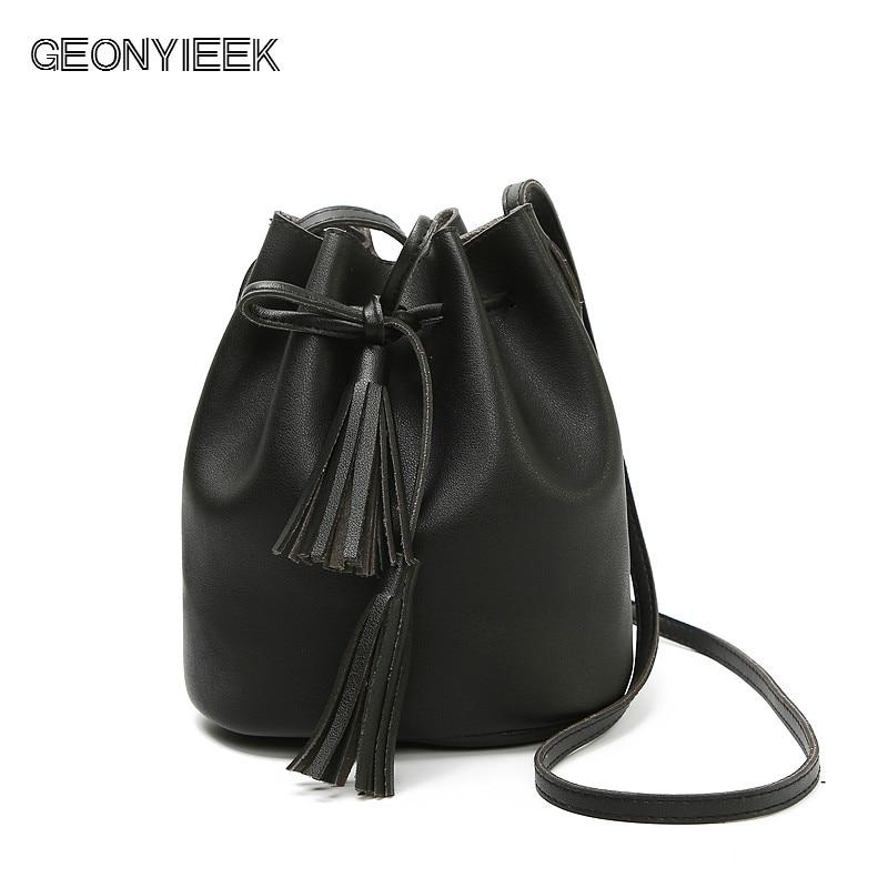 Women Bag Tassel Lea