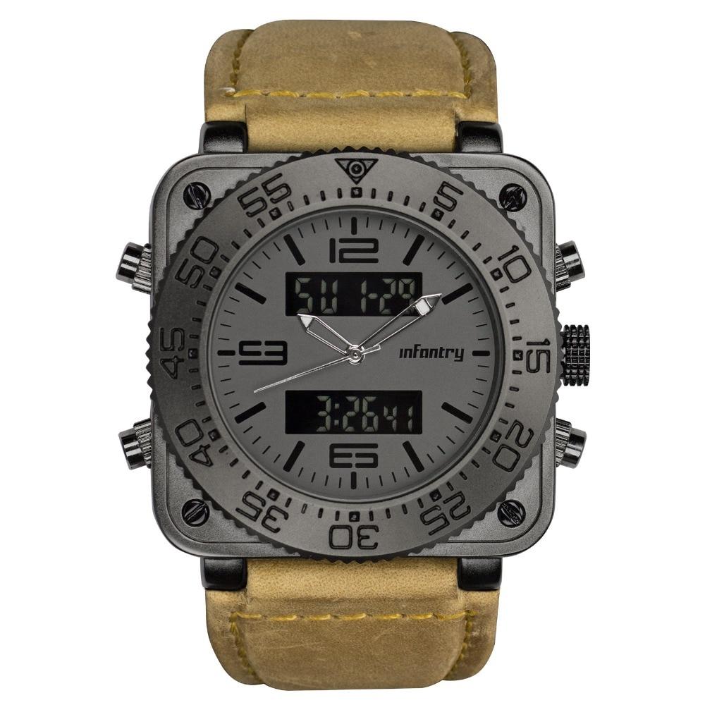 Men's Chronograph Watch Multi function Quartz Army/Military/ Outdoors 1