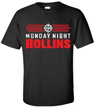 MONDAY NIGHT ROLLINS T-shirt  Wrestling Seth T Shirt Summer Style Fashion Men Shirts Top Tee Different Colours High Quality