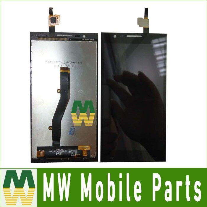 1 PC/Lot Haute Qualité Noir Couleur Pour MTC Smart Surf 4G Écran Tactile Digitizer + Lcd Assemblée D'écran
