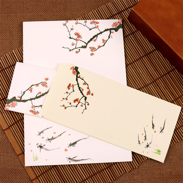 Envelope Craft Creative Decorative Writing Painting Letter Paper Vintage Mailing Wedding Invite Stationery Printing Envelopes