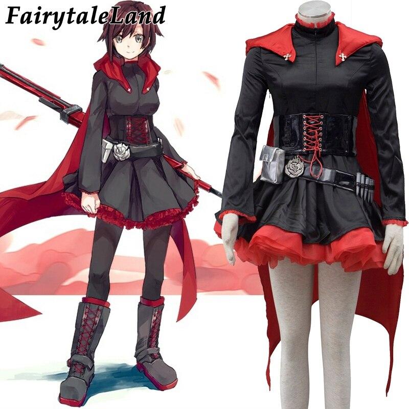 Compra ruby rose cosplay costume y disfruta del envío gratuito en  AliExpress.com c7d0bffc89e8