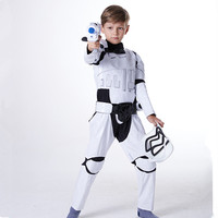 white soldier costume for children carnival clothing for boys halloween cosplay warrior cosplay costumes halloween cosplay