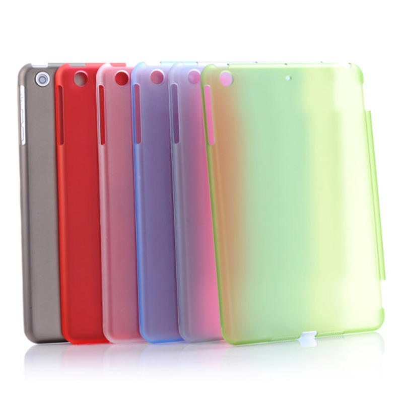 ocube 10pcs/lot Luxury Matte Transparent Clear PC Plastic Back Protective Cover Case For Apple iPad Mini 1 2 3 7.9Tablet