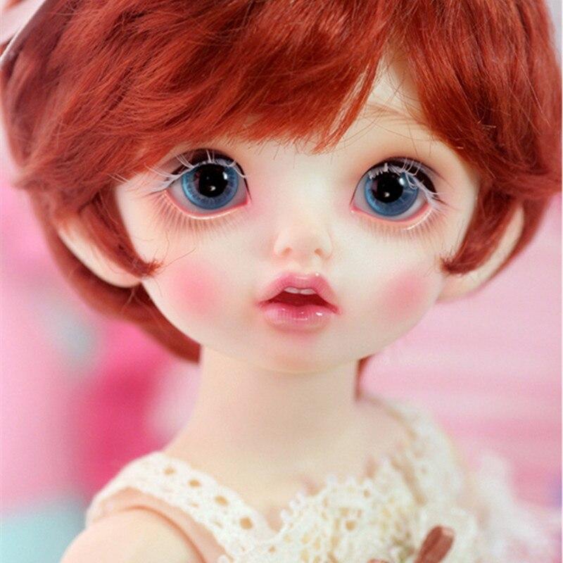 Bjd sd куклы Carol 1/6 модель тела reborn сочлененные Высокое качество Бесплатная средства ухода для век