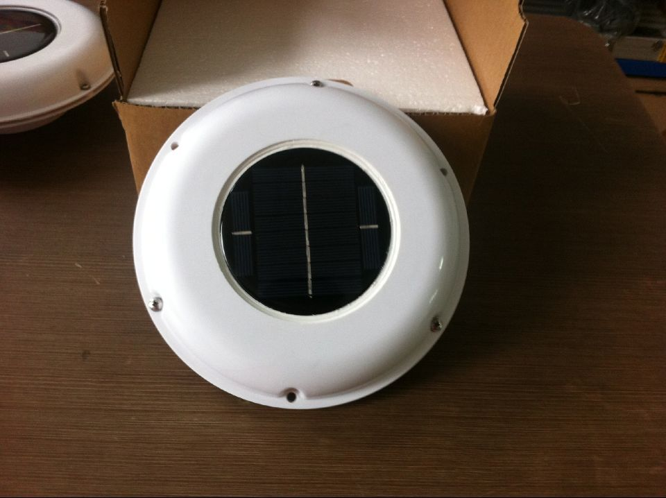 Ventilateur solaire ventilateur automatique utilisé pour caravanes bateaux maison verte salle de bain hangar maison CONSERVATIONS