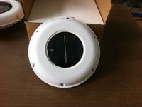 SOLAR VENT FAN AUTOMATIC VENTILATOR USED FOR CARAVANS BOATS GREEN HOUSE BATHROOM SHED HOME CONSERVATIONS