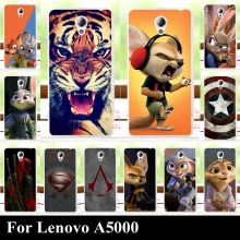 For LENOV0 A5000 High Quality Transpatent Hard Plastic Color Paint Case Mobile Phone Cover Case