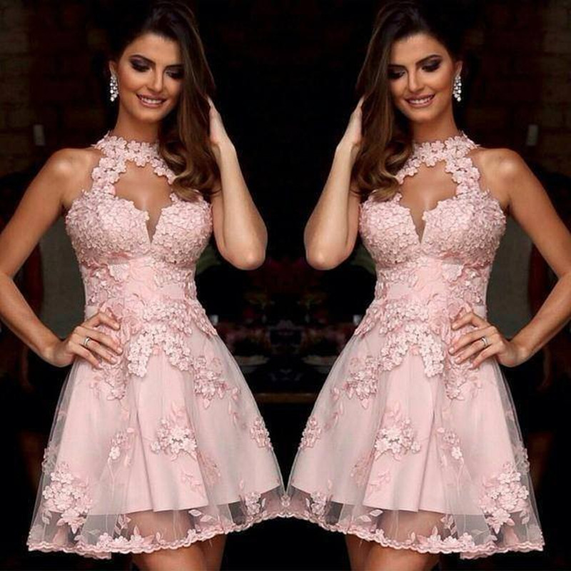 Online Get Cheap Pink Cocktail Dresses -Aliexpress.com - Alibaba Group