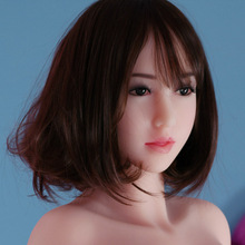 New! 53#Top quality TPE sex doll head for145-168cm Realistic Sexs Doll, oral sex toys for men