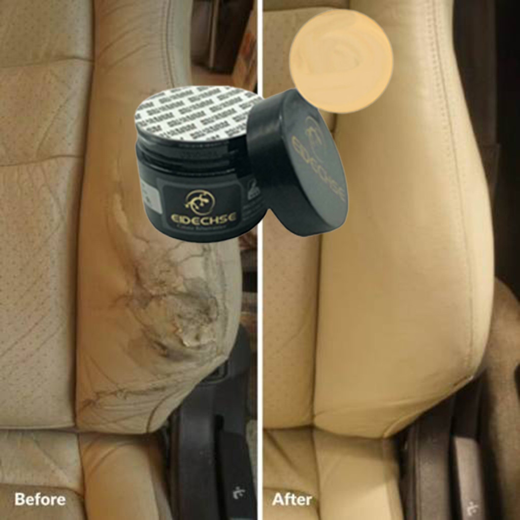 Leather Vinyl Repair Paste Cream Filler Compound Putty For Car Seat Sofa Leather Restoration Cracks Burns Hole Best Selling