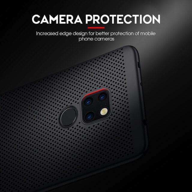 New Heat Dissipation Case For Huawei P30 Pro P20 Mate 20 Lite Y9 2019 Nova 4e 3e 3i P Smart Plus Cover For Dropshipping Coque 5