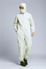 silver fiber high anti-radiation work clothing, EMF shielding Coverall, RFID Blocking jumpsuit.