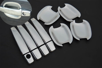 FUNDUOO New Chrome Car Door Handle Cover + Car Bowl For Buick LaCrosse / Buick Excelle / Buick Regal / Buick Allure 2009-2014 фото