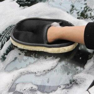Image 3 - 1 個車のマイクロファイバークリーニング手袋フォルクスワーゲン bmw e46 アウディ a3 フィアット 500 メルセデス座席イビサフォルクスワーゲンポロアクセサリー