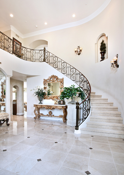 Luxury House Stairs Theme Studio Backdrop Flowers White Back Color  Photography Background Photo Digital Cloth F